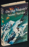 Movie Posters:James Bond, On Her Majesty's Secret Service by Ian Fleming & Other Lot (The Book Club, 1963). British Hardcover Books (2) (Multiple Page... (Total: 2 Items)