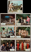 """Movie Posters:James Bond, You Only Live Twice (United Artists, 1967). British Front of House Color Photos (7) (8"""" X 10""""). James Bond.. ... (Total: 6 Items)"""
