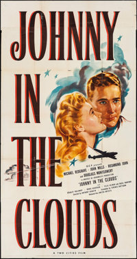 "Johnny in the Clouds (United Artists, 1946). Three Sheet (41"" X 78""). War"