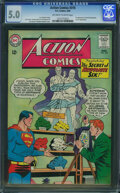 Silver Age (1956-1969):Superhero, Action Comics #310 (DC, 1964) CGC VG/FN 5.0 Off-white to whitepages.