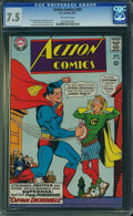 Silver Age (1956-1969):Superhero, Action Comics #354 (DC, 1967) CGC VF- 7.5 Off-white pages.
