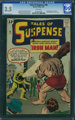 Tales of Suspense #40 (Marvel, 1963) CGC VG- 3.5 White pages