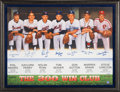 """Baseball Collectibles:Others, 1990's """"The 300 Win Club"""" Multi-Signed Lithograph...."""