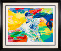 "Baseball Collectibles:Others, 2003 ""The Rocket - Roger Clemens"" Serigraph Signed byClemens & Leroy Neiman...."