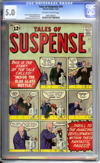 Tales of Suspense #34 (Marvel, 1962) CGC VG/FN 5.0 Off-white to white pages