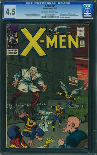 X-Men #11 (Marvel, 1965) CGC VG+ 4.5 Off-white to white pages