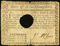 Colonial Notes:New Hampshire, New Hampshire April 29, 1780 $2 Very Good-Fine, HOC.. ...