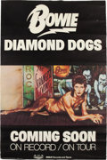 Music Memorabilia:Posters, David Bowie Diamond Dogs Promotional Poster (RCA Records, 1974)....
