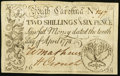 Colonial Notes:South Carolina, South Carolina April 10, 1778 2s 6d Very Fine.. ...