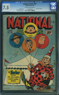 Golden Age (1938-1955):Humor, National Comics #48 (Quality, 1945) CGC VF- 7.5 Off-white to white pages.
