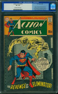 Silver Age (1956-1969):Superhero, Action Comics #379 (DC, 1969) CGC VF+ 8.5 Off-white to white pages.