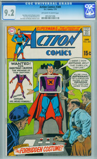 Action Comics #384 (DC, 1970) CGC NM- 9.2 Off-white to white pages