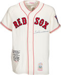 Baseball Collectibles:Uniforms, 1990's Ted Williams Signed Jersey....