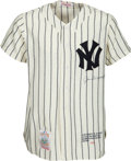 Baseball Collectibles:Balls, 1997 Joe DiMaggio Signed Limited Edition Jersey. ...