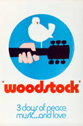 """Movie Posters:Rock and Roll, Woodstock (Warner Brothers, 1970). One Sheet (27"""" X 41"""") """"Wilding""""Style C.. ..."""