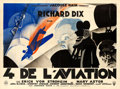 "Movie Posters:Drama, The Lost Squadron (RKO, 1932). French Four Panel (90.5"" X 121.5"").. ..."