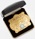 Baseball Collectibles:Others, 1934 Dizzy Dean St. Louis Cardinals World Series Champions BeltBuckle. ...