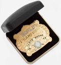 Baseball Collectibles:Others, 1942 Lloyd Moore St. Louis Cardinals World Series Champions BeltBuckle. ...