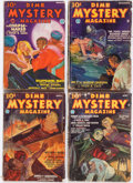Pulps:Horror, Dime Mystery Magazine Box Lot (Popular, 1933-49) Condition: Average GD/VG....