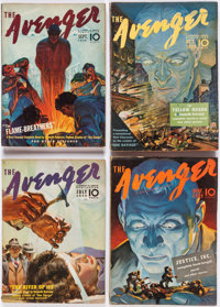 The Avenger Complete Series Group of 24 (Street & Smith, 1939-42) Condition: Average VG.... (Total: 24 Comic Books)