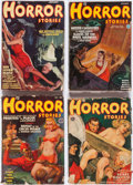 Pulps:Horror, Horror Stories Group of 8 (Popular, 1935-41) Condition: AverageGD.... (Total: 8 Items)