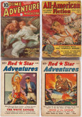 Pulps:Adventure, Assorted Adventure Pulps Box Lot (Various, 1935-43) Condition: Average GD....