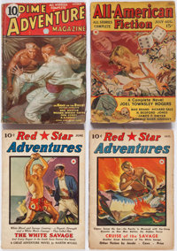 Assorted Adventure Pulps Box Lot (Various, 1935-43) Condition: Average GD