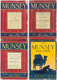 Munsey Group of 7 (Frank A. Munsey Company, 1908-28) Condition: Average GD.... (Total: 7 Items)