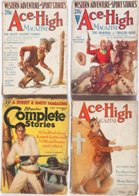 Assorted Western Pulps Group of 22 (Various, 1921-37) Condition: Average GD.... (Total: 22 Items)