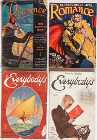 Assorted Pulps Group of 12 (Various, 1922-40) Condition: Average GD.... (Total: 12 Comic Books)
