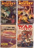 Pulps:Miscellaneous, Assorted Pulps Box Lot (Various, 1930s-40s)....