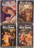 Pulps:Hero, Blue Book Group of 11 (McCall, 1911-25) Condition: Average GD.... (Total: 11 Items)