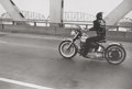 Photographs, Danny Lyon (American, b. 1942). Crossing the Ohio, Louisville, 1966. Gelatin silver, printed in 2000 under the direct su...