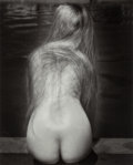 Photographs:Gelatin Silver, Ruth Bernhard (American, 1905-2006). At the Pool, circa1949. Gelatin silver, printed later. 11-5/8 x 9-3/8 inches (29.5...