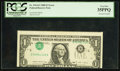 Error Notes:Inverted Third Printings, Fr. 1914-E $1 1988 Federal Reserve Note. PCGS Very Fine 35PPQ.. ...