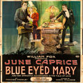 "Movie Posters:Drama, Blue-Eyed Mary (Fox, 1918). Six Sheet (81"" X 81"").. ..."