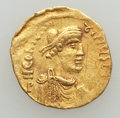 Ancients:Byzantine, Ancients: Constans II (AD 641-668). AV tremissis (1.45 gm)....