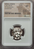 Ancients:Greek, Ancients: ATTICA. Athens. Ca. 393-294 BC. AR tetradrachm....