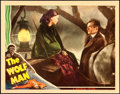"""Movie Posters:Horror, The Wolf Man (Universal, 1941). Lobby Card (11"""" X 14"""").. ..."""