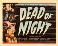 "Movie Posters:Horror, Dead of Night (Universal, 1946). Title Lobby Card (11"" X 14"").. ..."