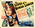 "Movie Posters:Adventure, The Lives of a Bengal Lancer (Paramount, 1935). Half Sheet (22"" X28"") Style A & Lobby Cards (7) (11"" X 14"").. ... (Total: 8Items)"