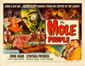 "Movie Posters:Science Fiction, The Mole People (Universal International, 1956). Half Sheet (22"" X28"") Style A, Reynold Brown Artwork.. ..."