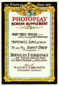 """Movie Posters:Miscellaneous, Photoplay Magazine Screen Supplement (Educational Films Corporation of America, 1919). One Sheet (28"""" X 41"""").. ..."""