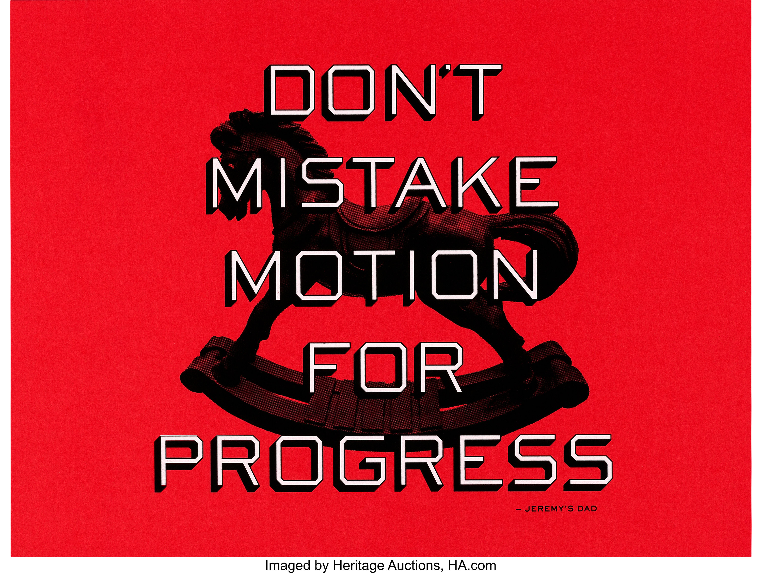 Facebook Motivational Poster (Facebook, 2010s). Screen Print Poster | Lot  #86754 | Heritage Auctions