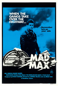 "Mad Max (Roadshow Film Distributors, 1980). Australian One Sheet (27"" X 40"")"
