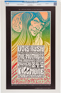 Music Memorabilia:Posters, Otis Rush/Mothers Of Invention Fillmore Auditorium Concert PosterFirst Printing BG-53 CGC 9.8 (Bill Graham, 1967)....