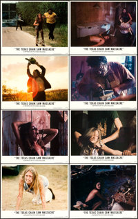 """The Texas Chainsaw Massacre (Bryanston, 1974). Lobby Card Set of 8 (11"""" X 14""""). ... (Total: 8 Items)"""