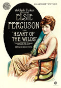 "Movie Posters:Drama, Heart of the Wilds (Artcraft, 1918). One Sheet (28.5"" X 41"").. ..."