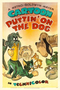 "Movie Posters:Animated, Puttin' On The Dog (MGM, 1944). One Sheet (27"" X 41"").. ..."