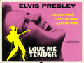 "Movie Posters:Elvis Presley, Love Me Tender (20th Century Fox, 1956). British Quads (2) (30"" X40"") Styles A & B.. ... (Total: 2 Items)"